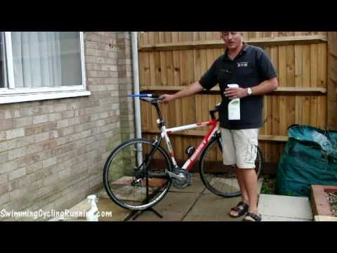 Degreasing a Bike Chain