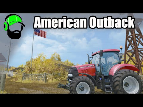 Farming Simulator 15 American Outback - Starting on Moonshine