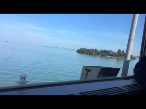 Train Ride Into Venice