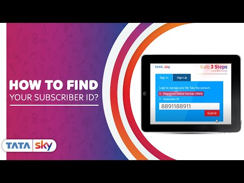 Tata Sky | DIY - How to find your subscriber ID?