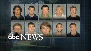 10 people under arrest in suspected hazing death of Louisana college student