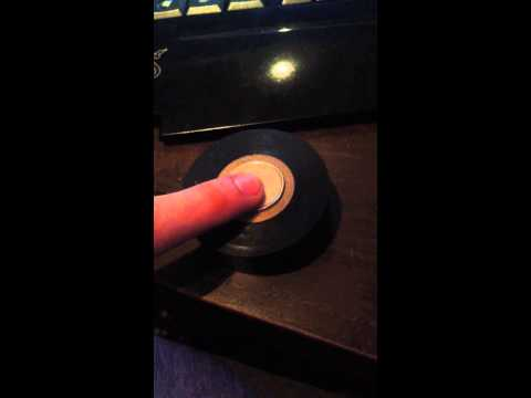 Coin in tape roll