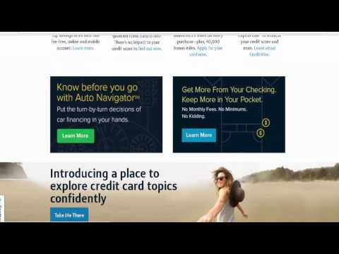 Capital One : How to Apply for A Credit Card