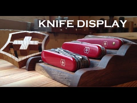 Knife Display Stand