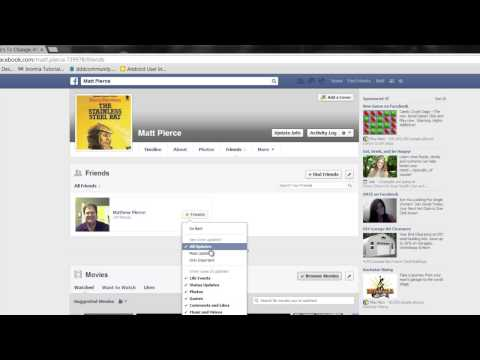 How Can I Get Someone Back on My Newsfeed in Facebook? : Advanced Facebook Tips