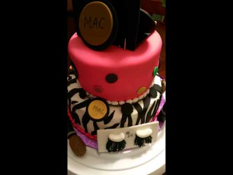 Makeup cake (MAC) || Chanty's Treats
