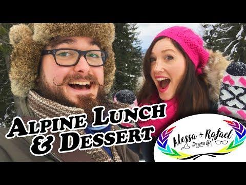Fun Adventure In The ITALIAN ALPS (Merano 2000 Hike/Lunch/Dessert) - Alessa and Rafael #003