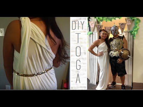 How to make a toga | DIY