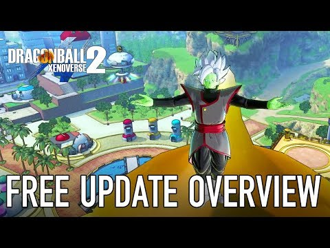Dragon Ball Xenoverse 2 - PS4/XB1/PC/SWITCH - Free Update Overview