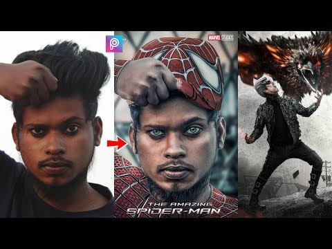 Xxx Mp4 PicsArt Spiderman Costume Photo Editing Tutorial Step By Step In Hindi In Picsart 3gp Sex