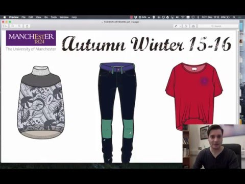 Illustrator: Lesson 16 (How to save your work as PDF or jpg) | Fashion Works at Manchester