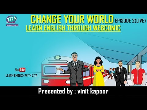 Live Class of Spoken English | Change Your World- Episode 2| By Vinit Kapoor