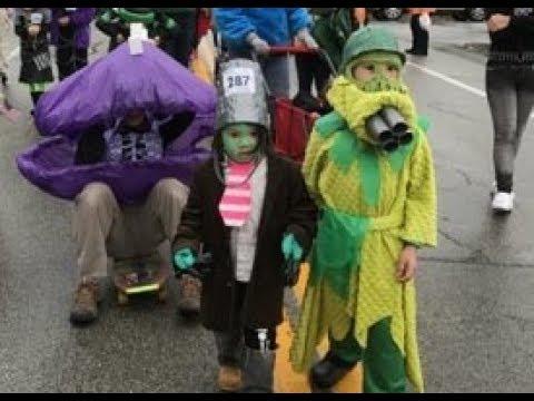 Plants Vs. Zombies on Parade