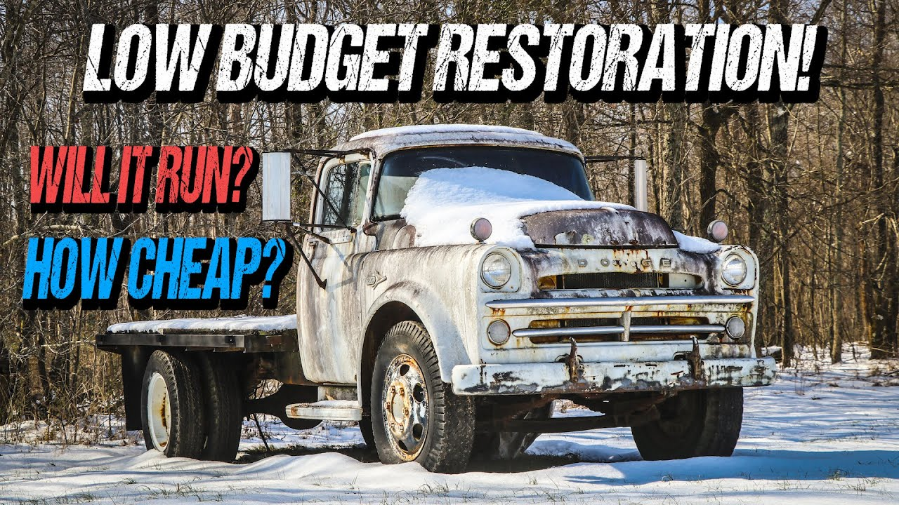 FORGOTTEN 1957 Dodge Restoration After YEARS of Sitting! Will It Run?