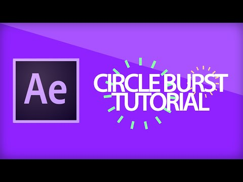After Effects Tutorial | Circle Burst