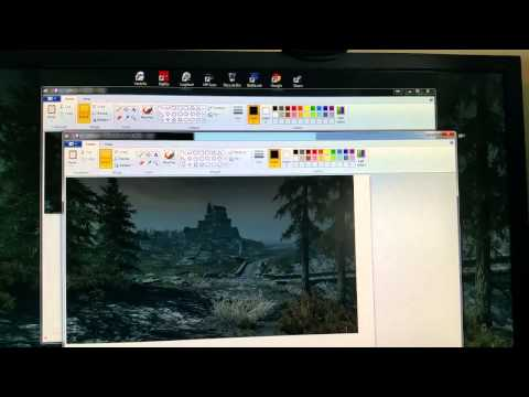 How To  Setup 2 Differnet Pics as Desktop Background on Dual Monitor setup