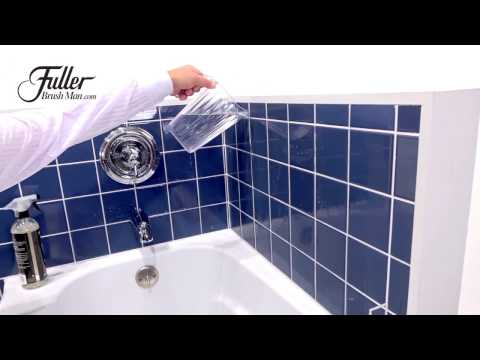How to keep your tub or shower clean without constantly