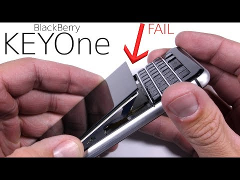 BlackBerry KEYone Durability Test - SCREEN FAIL!