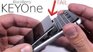 BlackBerry KEYone Durability Test - SCREEN FAIL!