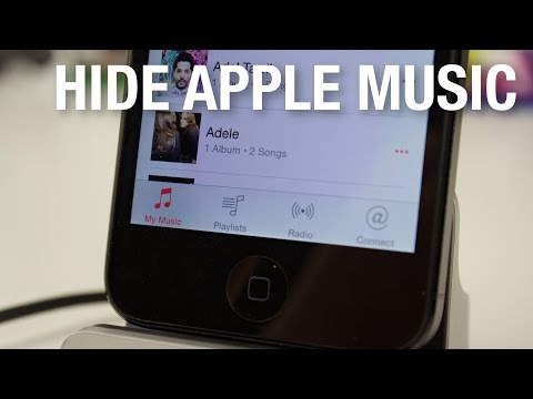 How to Hide Apple Music!