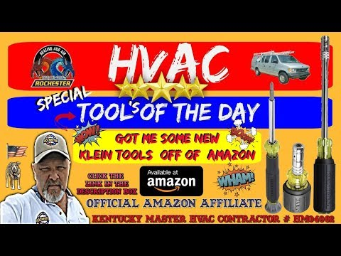 New Klein Drivers : Special HVAC Tools of the Day