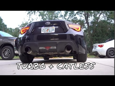 Making the Turbo BRZ Louder.... and somewhat faster!