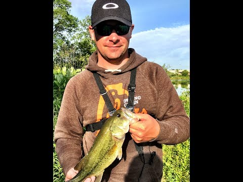 PRIVATE POND fishing - May 23, 2017