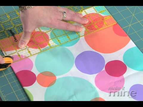 Make It Mine Magazine - Cutting Fabric Using A Rotary Cutter