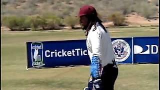 Manny Ramirez Plays Cricket