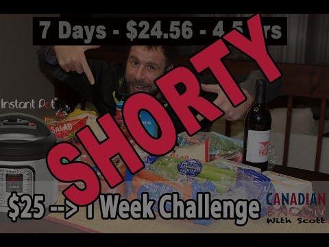 1-Week Challenge for $25 – Shorty Teaser