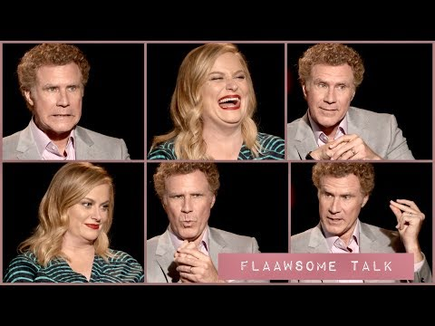 Why WILL FERRELL and AMY POEHLER'S Fake LAUGH! 😜 Will Make You Real Laugh...