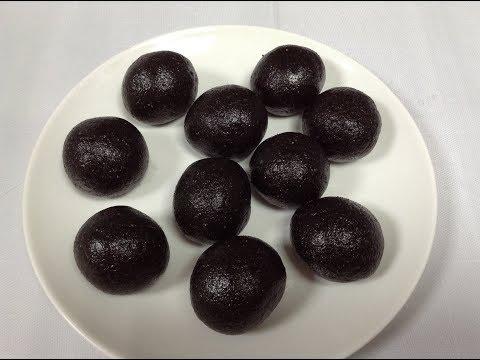 എള്ളുണ്ട / ellunda / black sesame balls