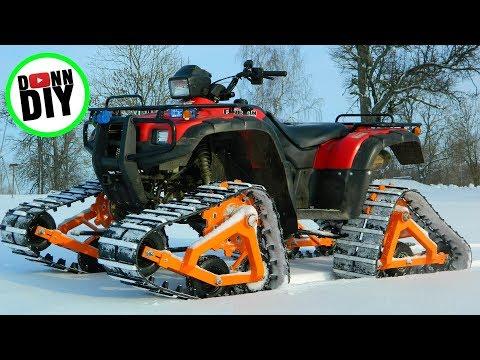 Homemade ATV Tracks Build - Part 1
