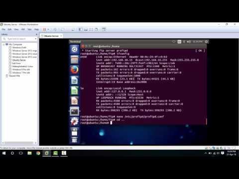 Instalacion y configuracion de servidor FTP en Ubuntu 14.04