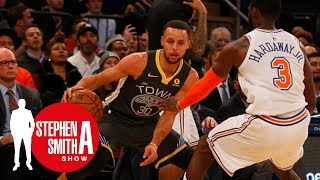Stephen A. can't stand that Steph Curry isn