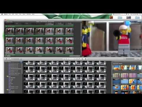 How to Make a Brickfilm in iMovie Tutorial