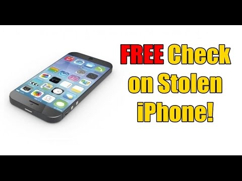 FREE How to Check if Your iPhone is Stolen!