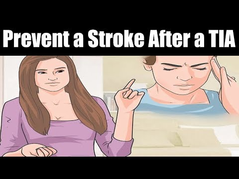 How to Prevent a Stroke After a TIA | Preventing a Mini-Stroke