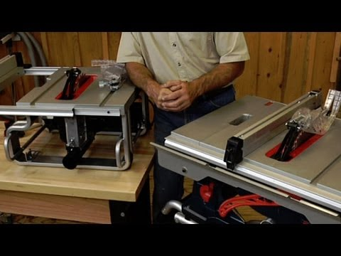Table Saw Buying Advice