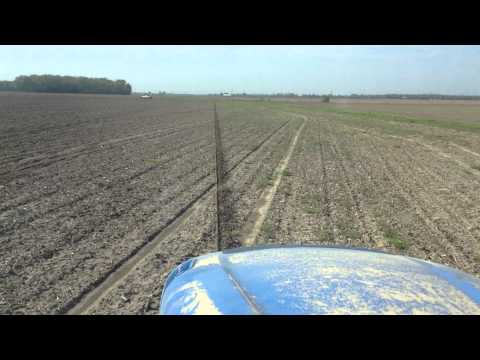 John Deere auto steer on New Holland tractor