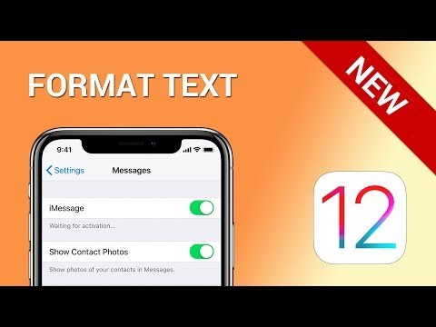 How to format text in almost any app on iPhone (iOS 12)
