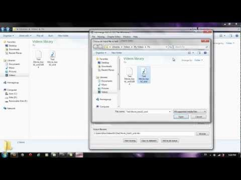 How To merge Video And Audio To MKV FIle