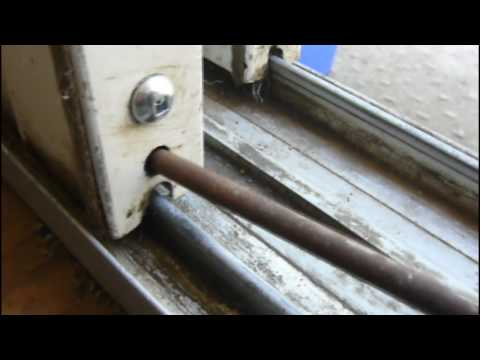 Goregoon's Garage: How to fix your sliding glass patio doors (part 2)