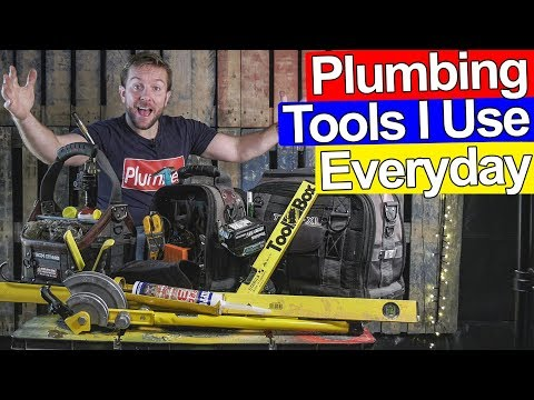 PLUMBING TOOLS YOU NEED DAILY pt.1