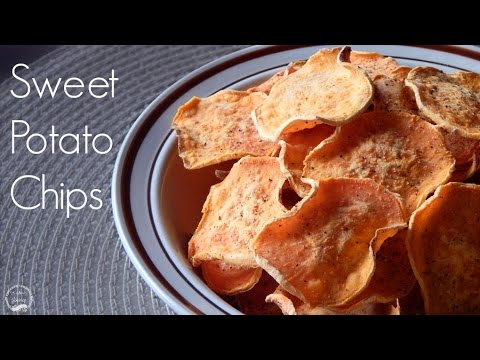 Baked Sweet Potato Chips Recipe | The Sweetest Journey