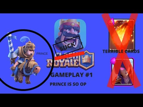 Clash Royale!!! THE PRINCE IS SO OP