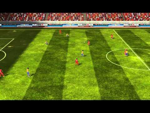 FIFA 14 Android - Echelon FC VS Arsenal
