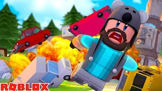 CRUSHING CARS AND NUCLEAR BOMBS IN ROBLOX!