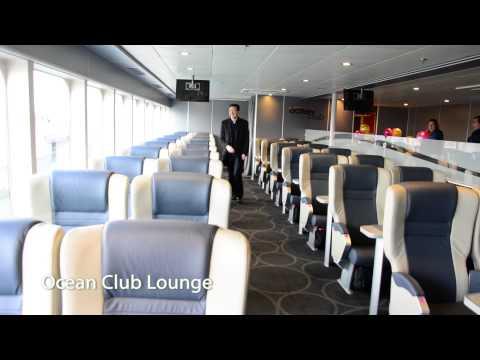 A tour around the new Condor Liberation ferry