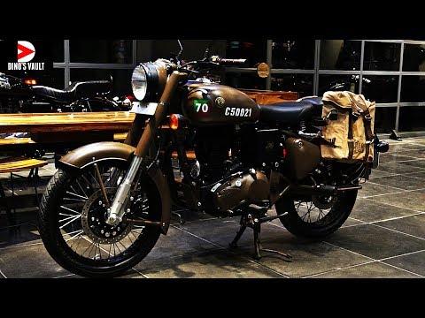 Royal Enfield Pegasus Classic 500 Limited Edition Walkaround #Bikes@Dinos